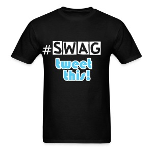 Twitter #SWAG - Men's T-Shirt