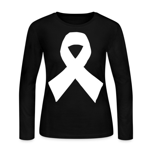 Support - Women's Long Sleeve Jersey T-Shirt