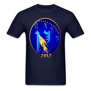 Striking 12 Midnight-2012 - Men's T-Shirt