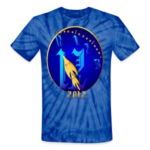 Striking 12 Midnight-2012 - Unisex Tie Dye T-Shirt