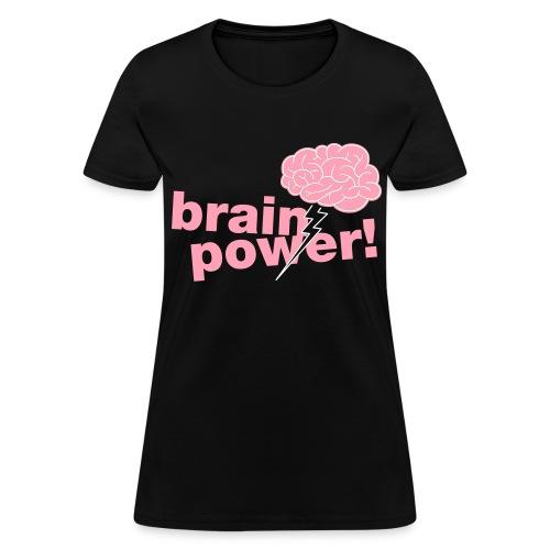 Brainpower Girly Tee - Women's T-Shirt