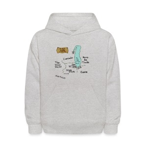 The World According to Chicago - Kids' Hoodie