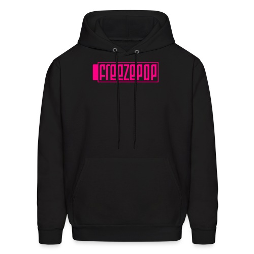 Classic Logo Hoodie, Neon Pink - Men's Hoodie