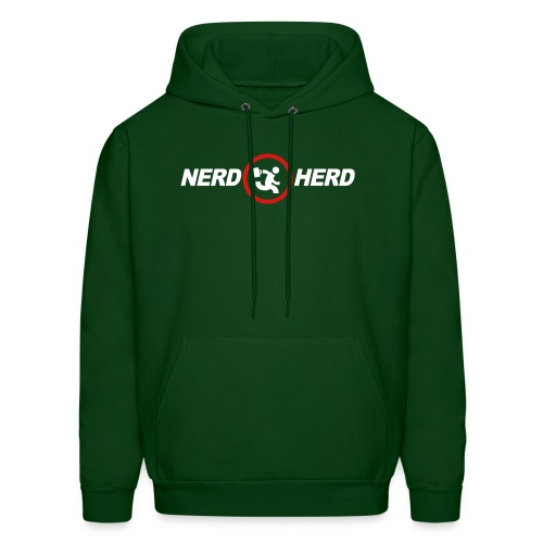 NERD HERD - Buy More Hoodie - Men's Hoodie