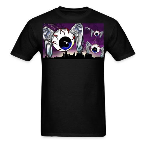 Eyeball City Attack - Men's T-Shirt