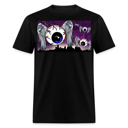 Eyeball City Attack - Men's T-Shirt