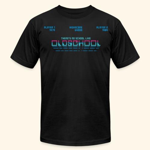 There's no school like oldschool - Men's  Jersey T-Shirt