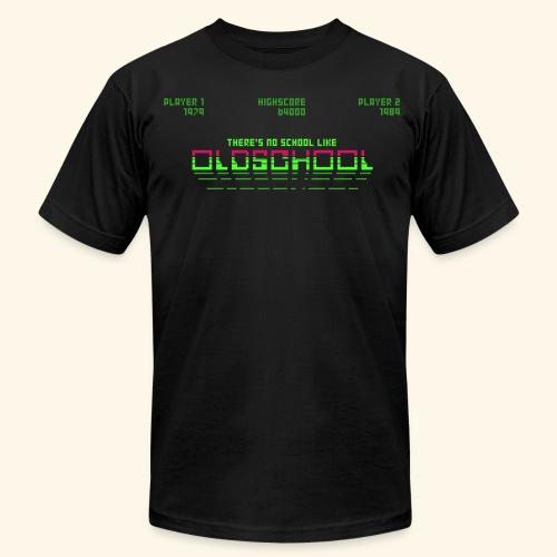 There's no school like oldschool - Men's Fine Jersey T-Shirt