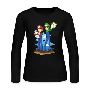 Super Winchester Bros (DESIGN BY HUDA)  - Women's Long Sleeve Jersey T-Shirt