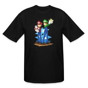 Super Winchester Bros (DESIGN BY HUDA)  - Men's Tall T-Shirt