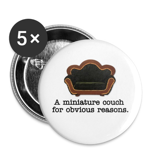 Miniature Couch Pins (5 pack) - Small Buttons