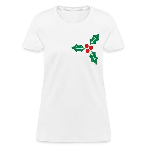 Christmas Holly - Women's T-Shirt