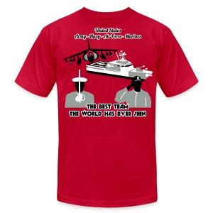 Army - Navy - Air Force - Marine Corps - T Shirt Mens - Men's Fine Jersey T-Shirt