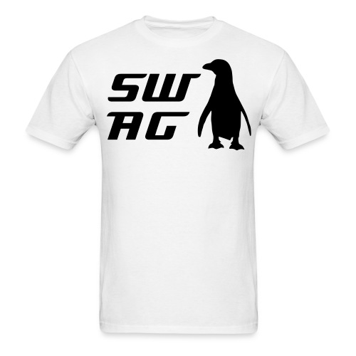 Swag-Penguin - Men's T-Shirt