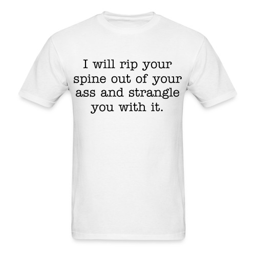 Spine Threat - Men's T-Shirt