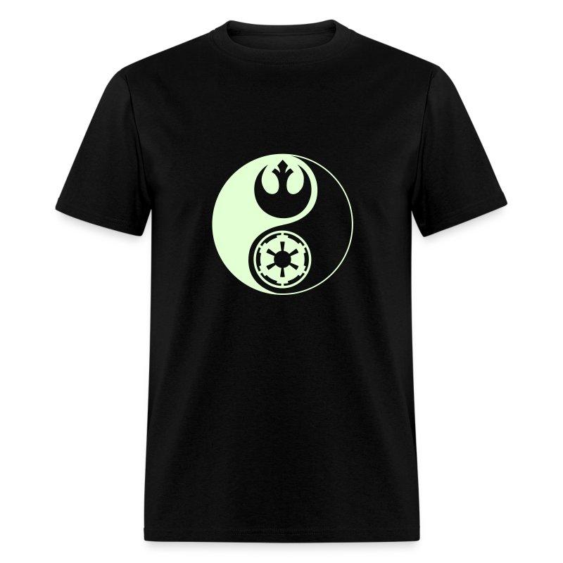 1 Logo - Star Wars - Yin Yang - Glow - Men's T-Shirt