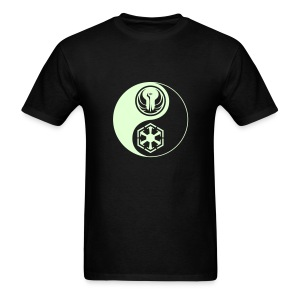1 Logo - Star Wars The Old Republic - Yin Yang - Glow - Men's T-Shirt