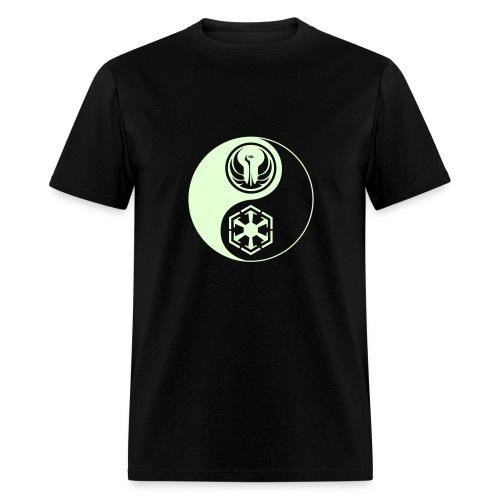 1 Logo - Star Wars The Old Republic - Yin Yang - Glow - Men's T-Shirt