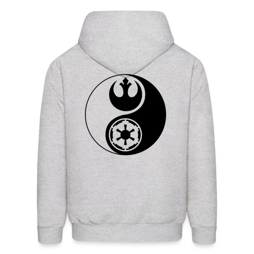 1 Logo - Star Wars - Yin Yang - Men's Hoodie