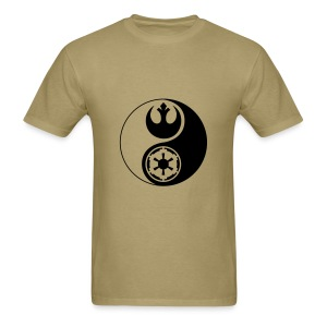 1 Logo - Star Wars - Yin Yang - Men's T-Shirt