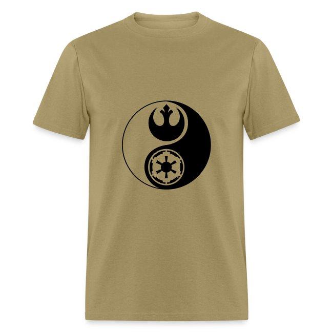 6bd9f7aa98666 1 Logo - Star Wars - Yin Yang | Men's T-Shirt