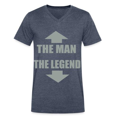 Tim Tim's  - Men's V-Neck T-Shirt by Canvas