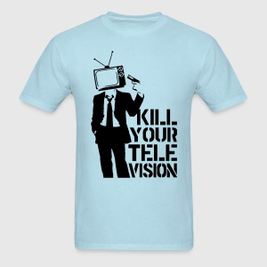 Kill Your Television VECTOR T-Shirts - Men's T-Shirt
