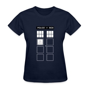 Police Box - Women's T-Shirt