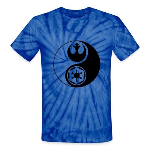 1 Logo - Star Wars - Yin Yang - Unisex Tie Dye T-Shirt