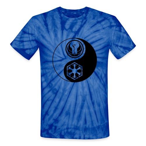 1 Logo - Star Wars The Old Republic - Yin Yang - Unisex Tie Dye T-Shirt