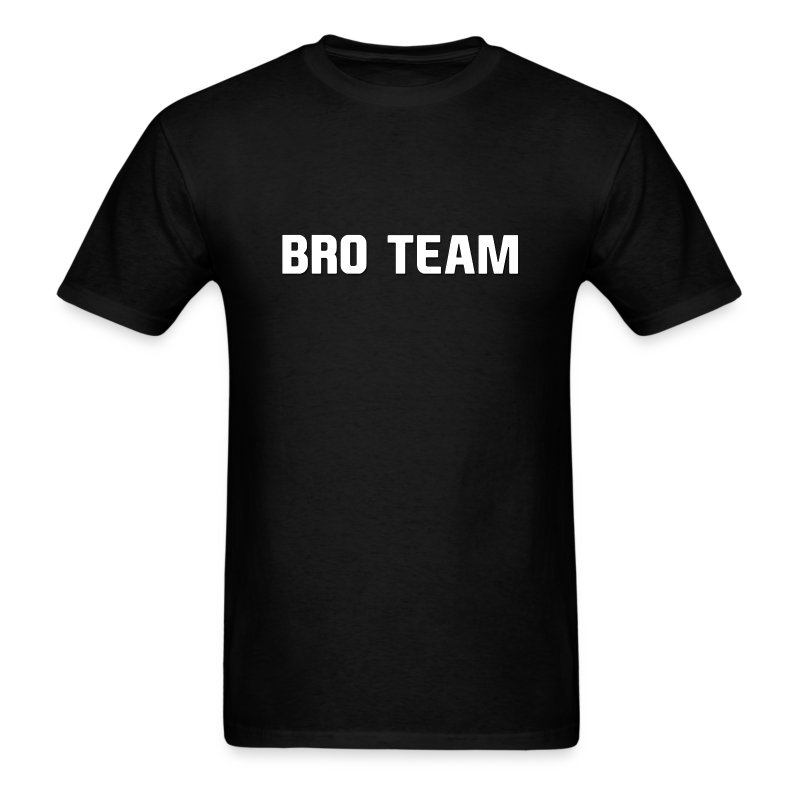 Bro Team White Words - Men's T-Shirt