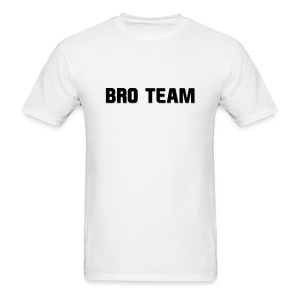 Bro Team Black Words - Men's T-Shirt