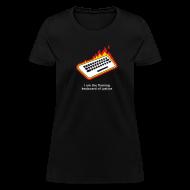 T-Shirts ~ Women's T-Shirt ~ [flamingkeyboard]