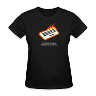 Women's T-Shirts ~ Women's T-Shirt ~ [flamingkeyboard]