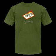 T-Shirts ~ Men's T-Shirt by American Apparel ~ [flamingkeyboard]