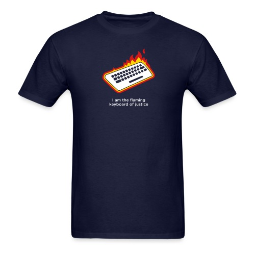 [flamingkeyboard] - Men's T-Shirt