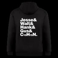 Hoodies ~ Men's Zip Hoodie ~ Jesse-Walt-C10H15N