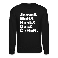 Long Sleeve Shirts ~ Crewneck Sweatshirt ~ Jesse-Walt-C10H15N