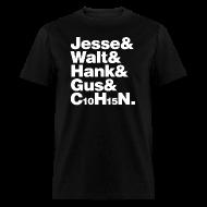 T-Shirts ~ Men's T-Shirt ~ Jesse-Walt-C10H15N