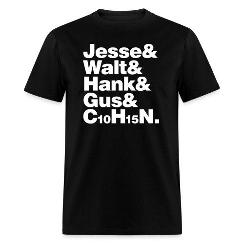 Jesse-Walt-C10H15N - Men's T-Shirt