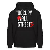 Hoodies ~ Men's Hoodie ~ Occupy all streets