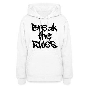 GIRLS Break the Rules Hoodie Black - Women's Hoodie