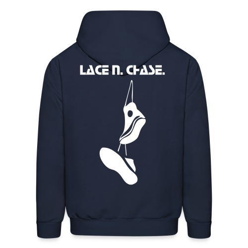 Lace Your Kicks; Chase Your Dreams. - Men's Hoodie