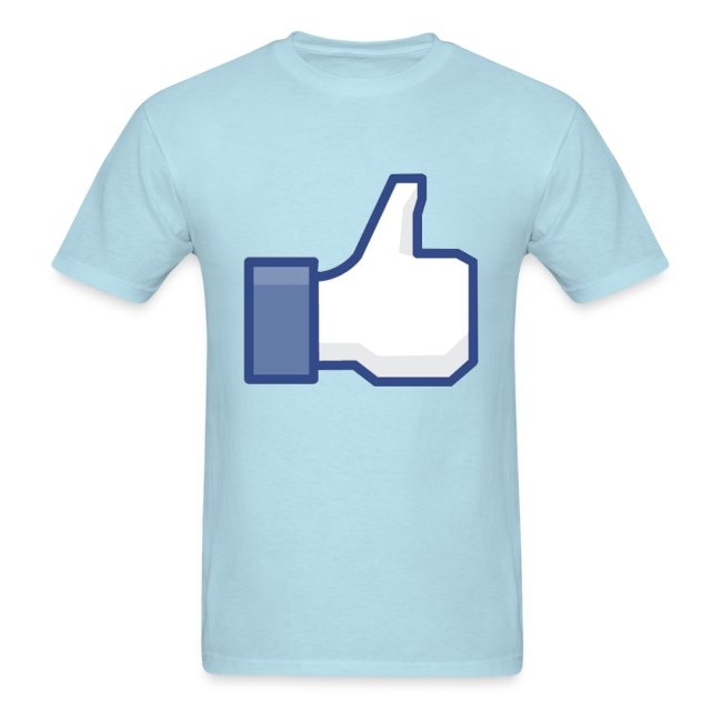 GenerationY | Facebook Like Thumbs Up: Cool Party Fun Design T-Shirt ...