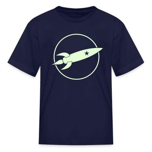 Glowing Rocket (Kid) - Kids' T-Shirt