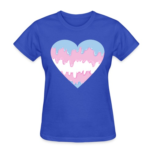 transmeltyheart shirt - Women's T-Shirt