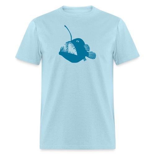 animal t-shirt anglerfish frogfish sea devil deep sea angler monkfish fishing fisherman monster - Men's T-Shirt