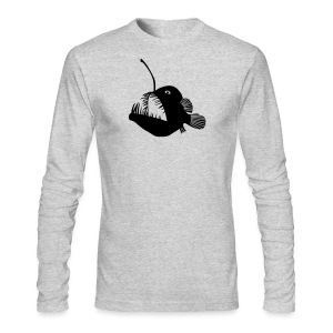 animal t-shirt anglerfish frogfish sea devil deep sea angler monkfish fishing fisherman monster - Men's Long Sleeve T-Shirt by Next Level