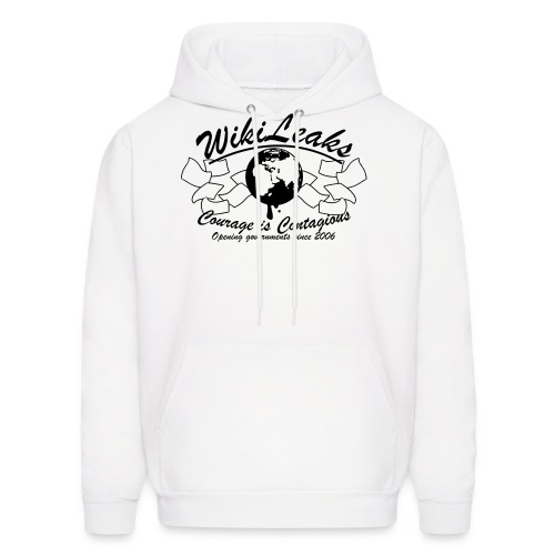 Courage is Contagious - Men's Hoodie