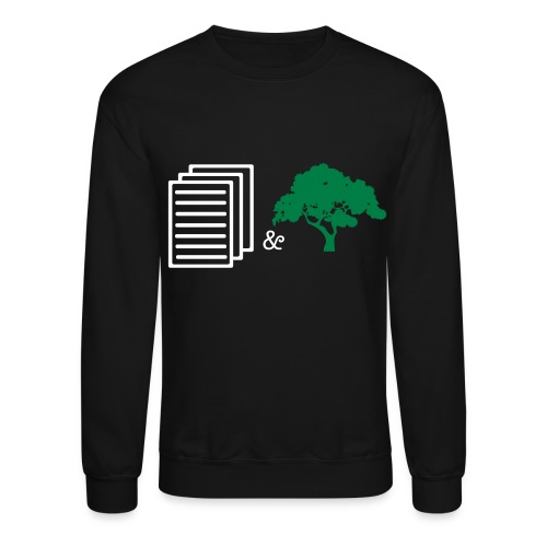 paper and trees - Crewneck Sweatshirt